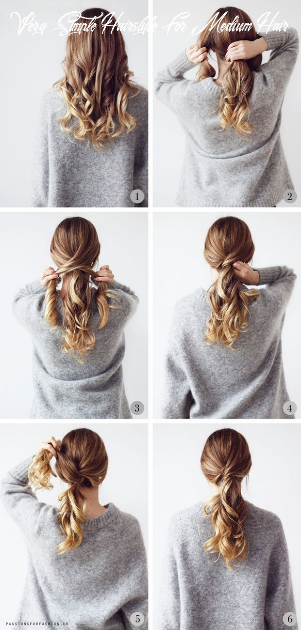 Such an easy hairdo for everyday styling   chic hairstyles, hair