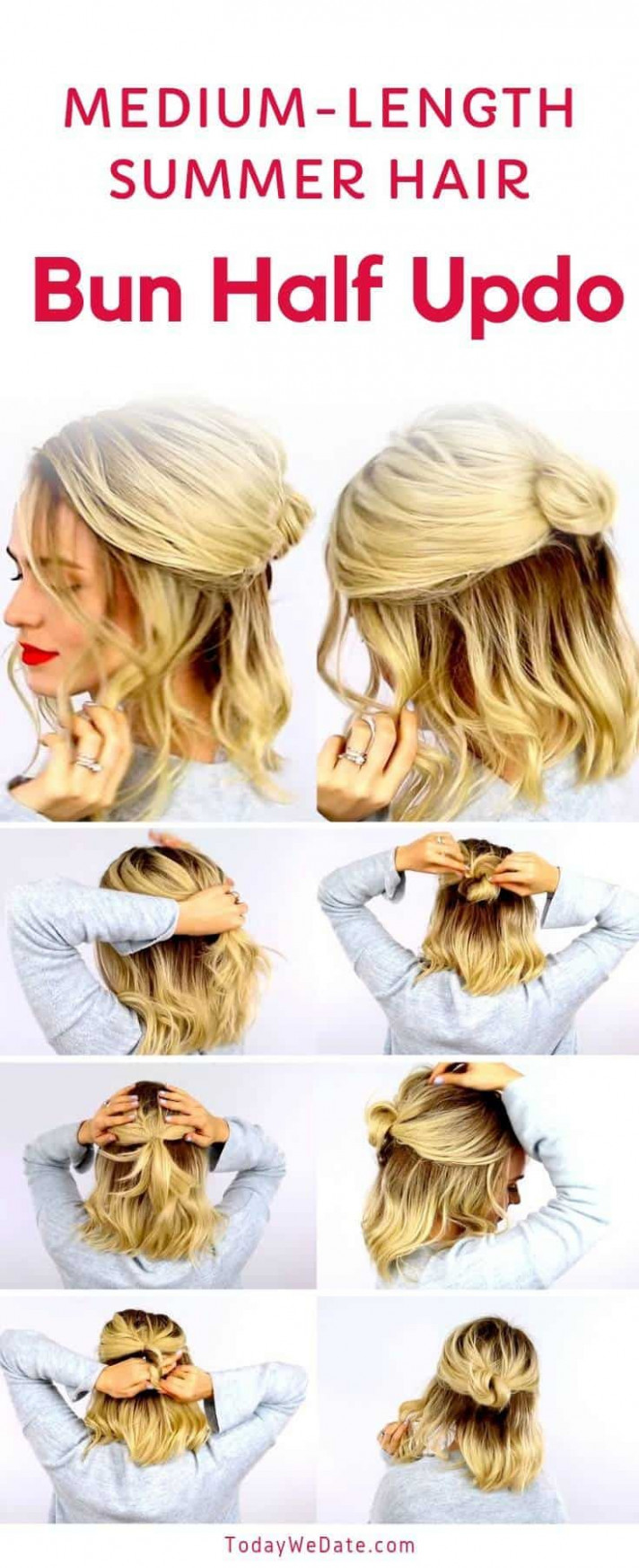 Summer hairstyles half up 8 everyday half up hairstyles | easy
