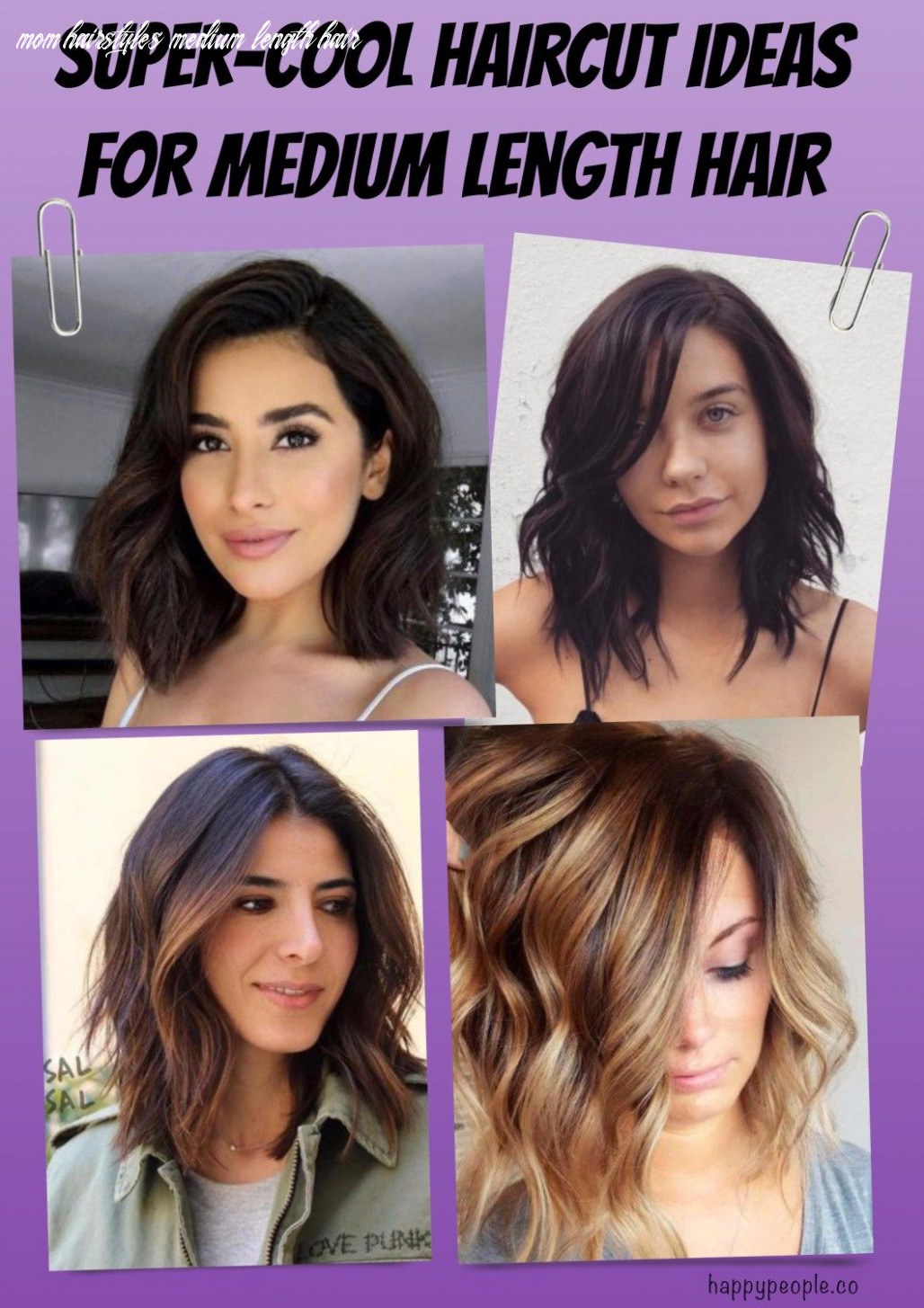 Super cool haircut ideas for medium length hair (with images