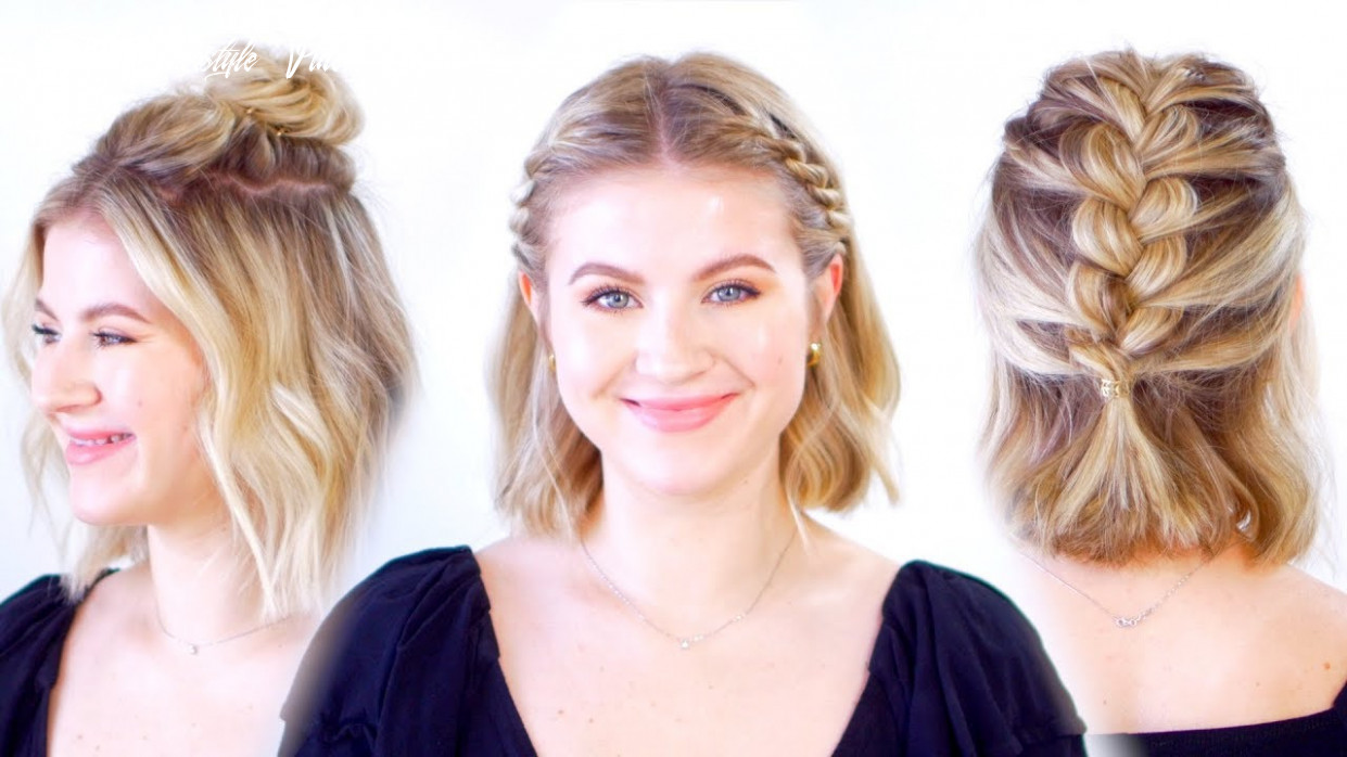 Super cute short hairstyles short hairstyle videos youtube