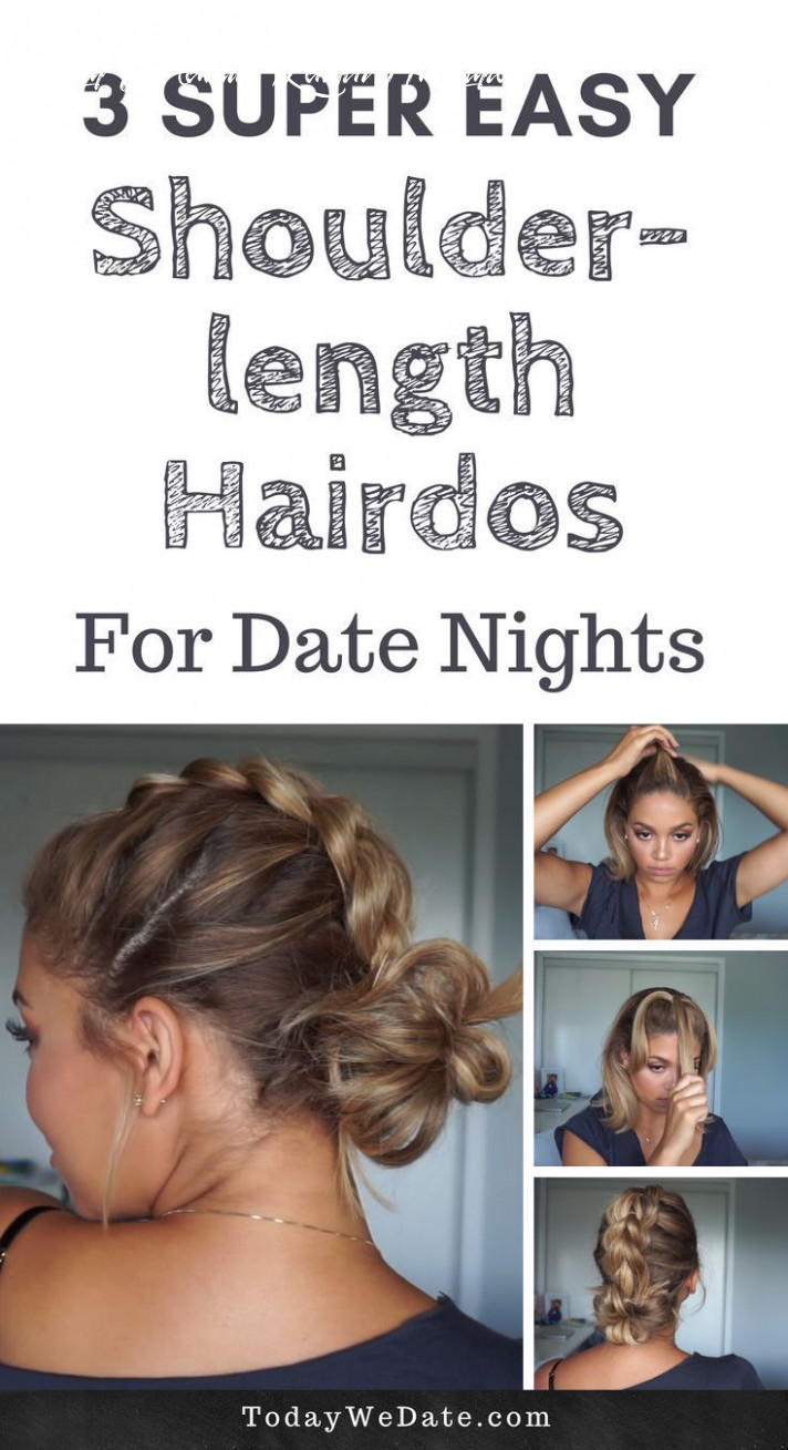 Super Easy Shoulder Length Hairstyles That Will Make Your Stand ...