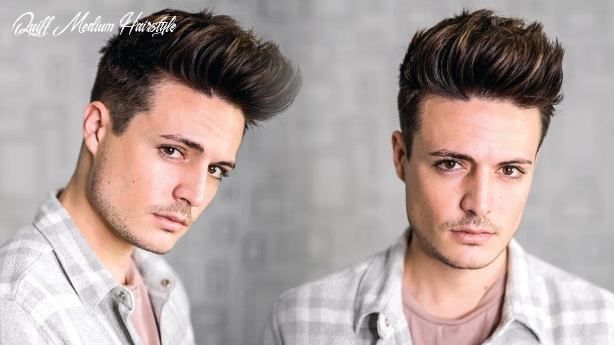 Super Easy Texture Quiff Hairstyle Tutorial 9 | Mens New Year New Hair!  | BluMaan 9