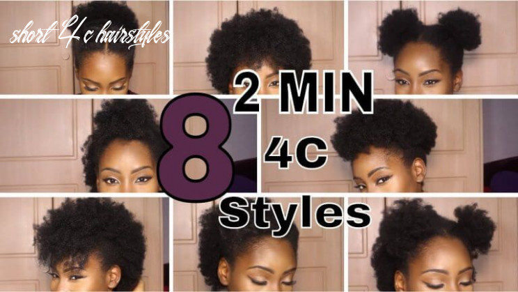 Super quick hairstyles on short 10c hair top   natural hair styles