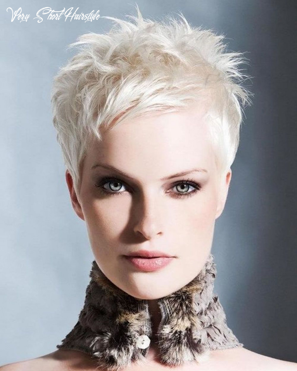 Super very short pixie haircuts & short hair colors 11 11