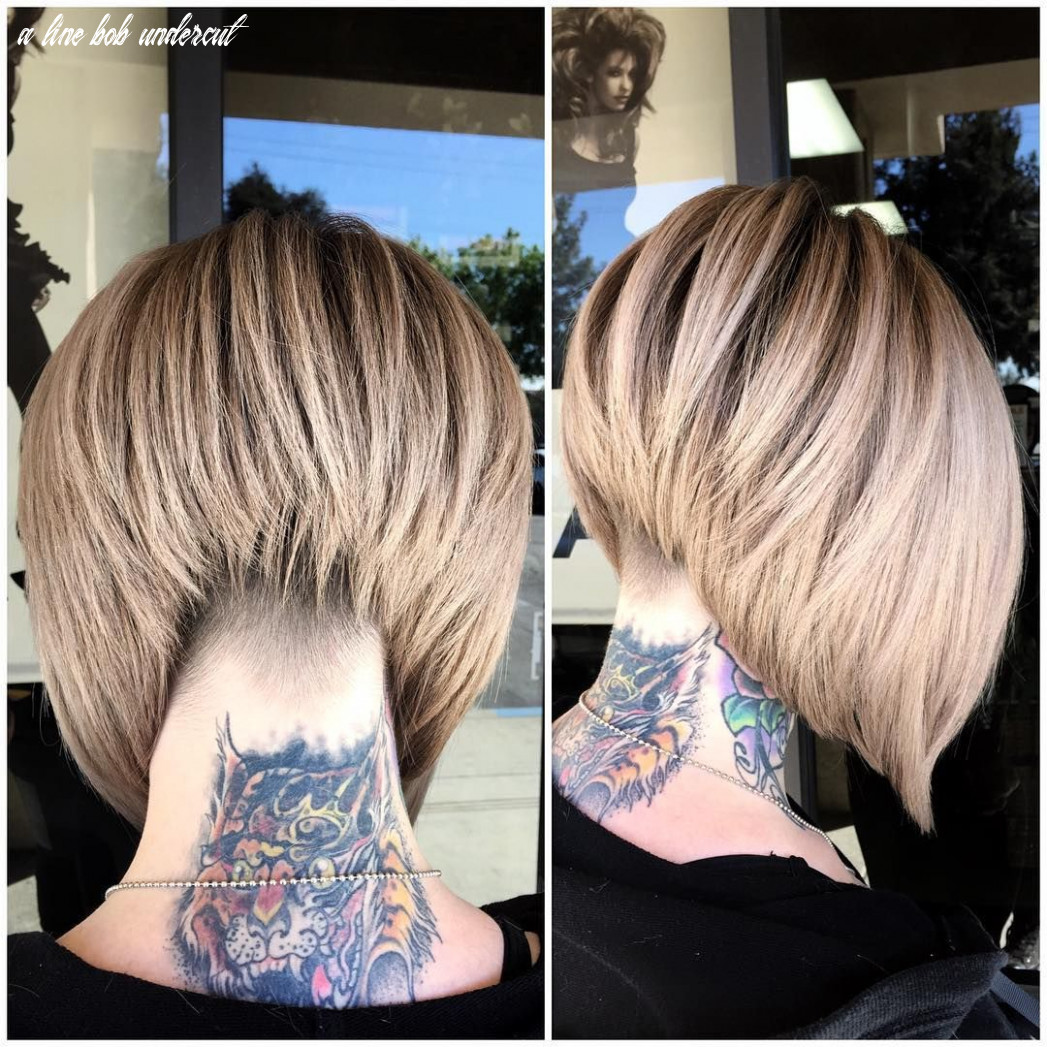 """Sydniiee """"undercut•stacked a line•stretchedroot this was fun! tons"""