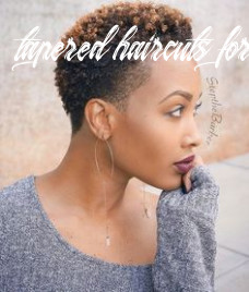 Tapered haircut for women tapered haircuts for women