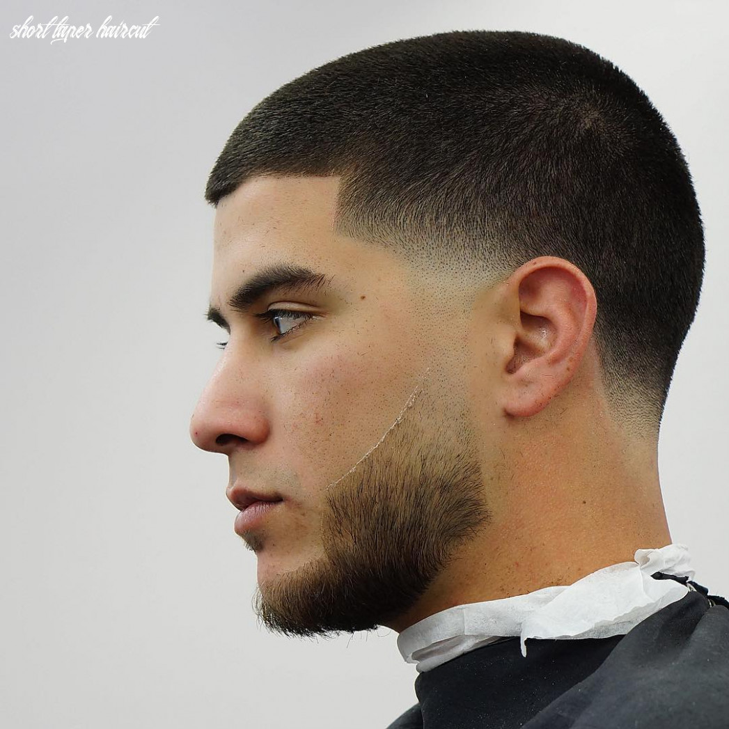 Temple fade haircuts (11 styles) short taper haircut