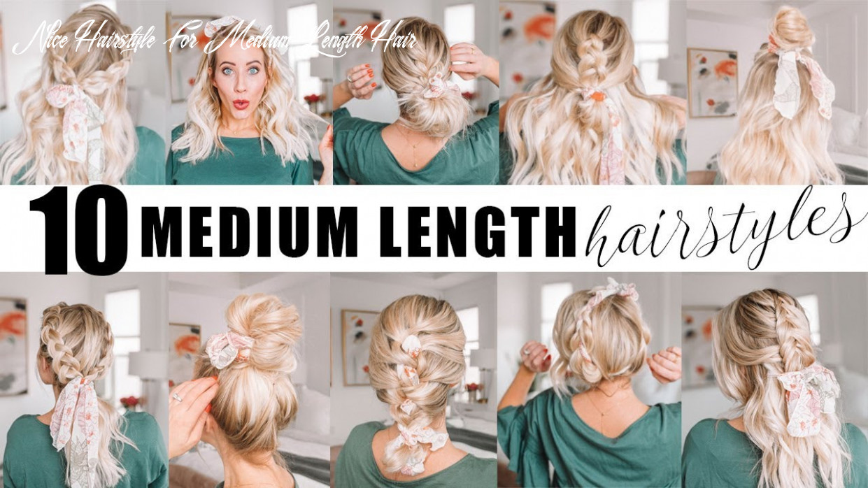 Ten medium length hairstyles for spring! || twist me pretty nice hairstyle for medium length hair
