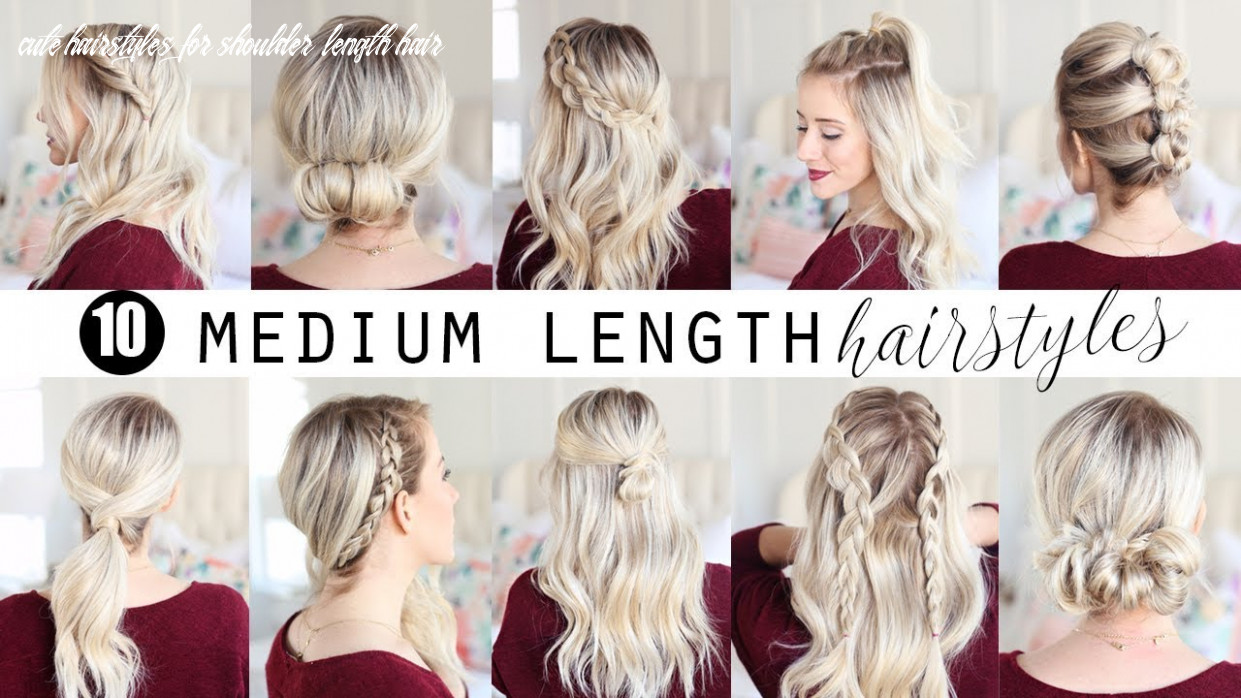 Ten medium length hairstyles!!! | twist me pretty cute hairstyles for shoulder length hair