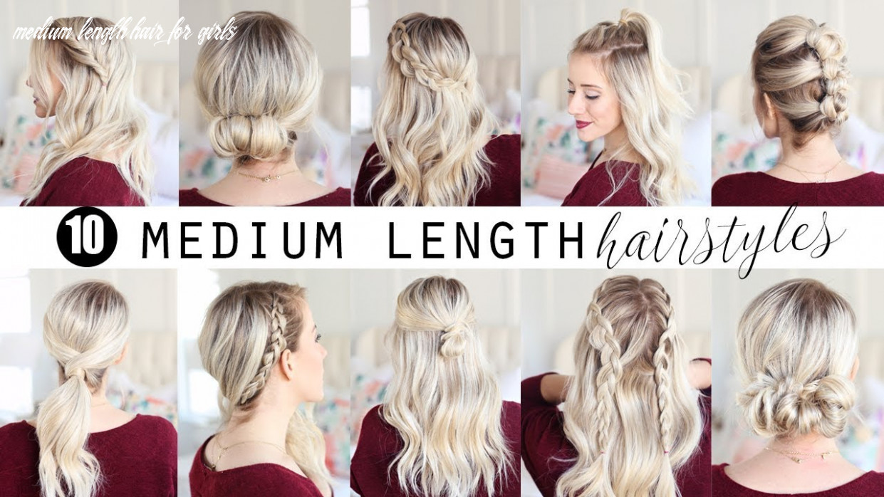 Ten medium length hairstyles!!! | twist me pretty medium length hair for girls