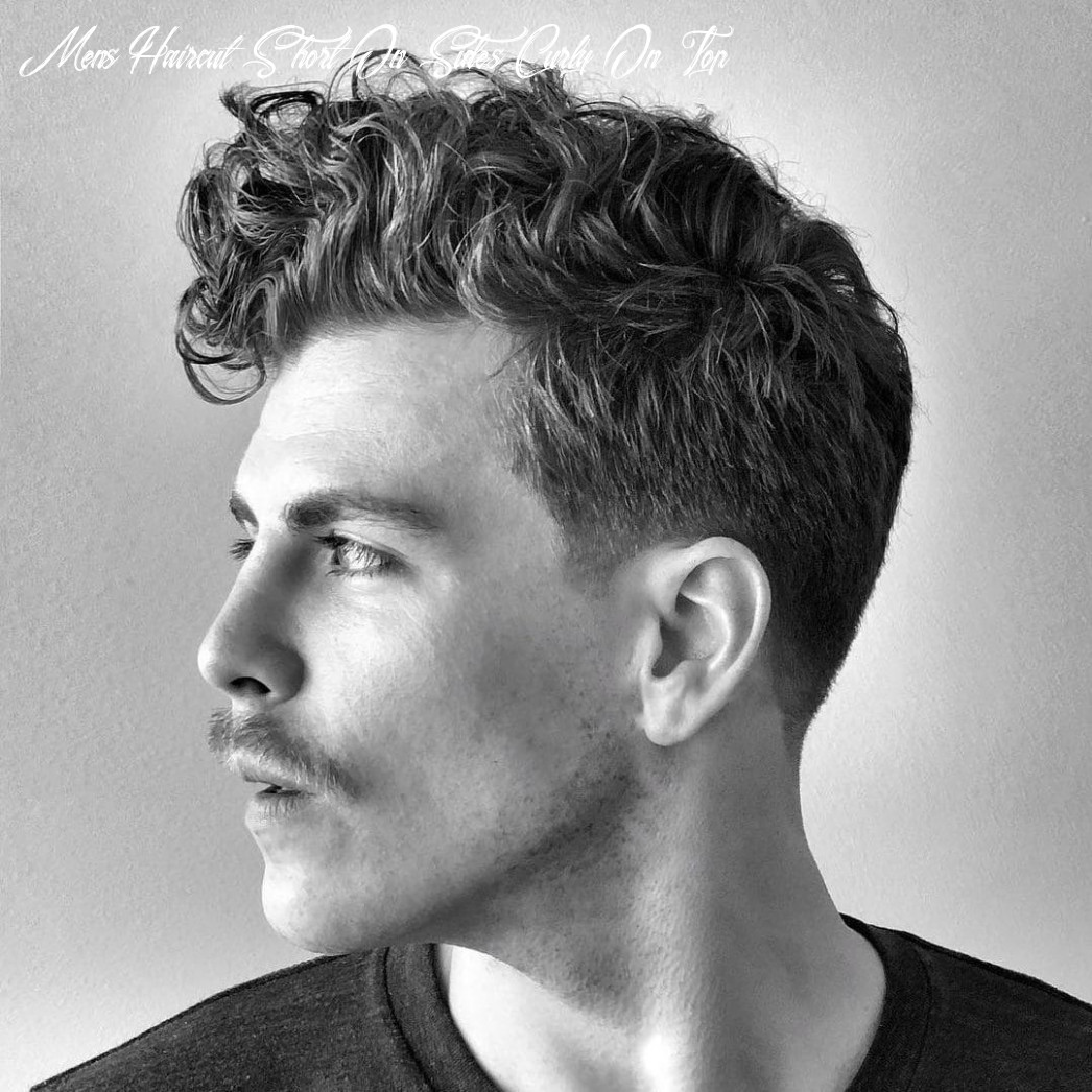The 10 best curly hairstyles for men   improb mens haircut short on sides curly on top