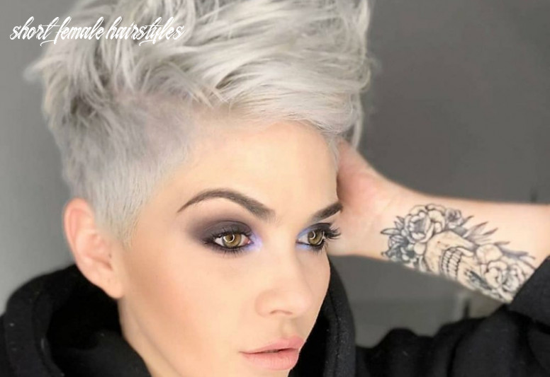 The 10 best short hairstyles for thick hair to be easier to manage short female hairstyles