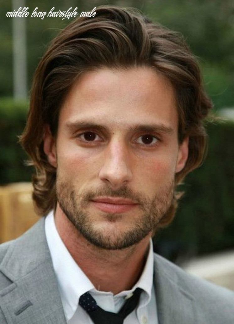 The 11 best medium length hairstyles for men | improb middle long hairstyle male