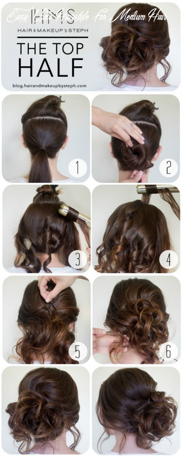 The 12 best easy updo hairstyles (with images) | diy hairstyles easy easy updo hairstyle for medium hair
