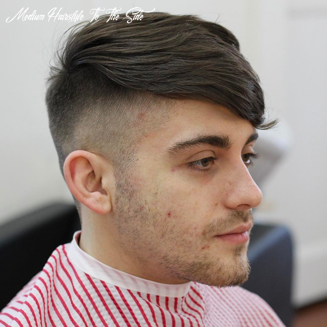 The 12 best medium length hairstyles for men | improb medium hairstyle to the side