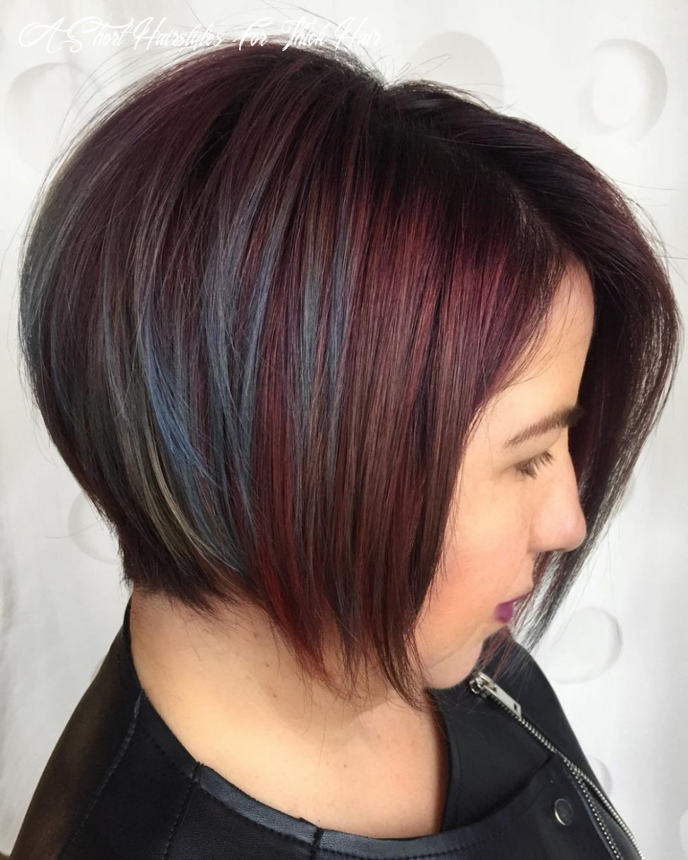 The 12 best short hairstyles for thick hair to be easier to manage a short hairstyles for thick hair