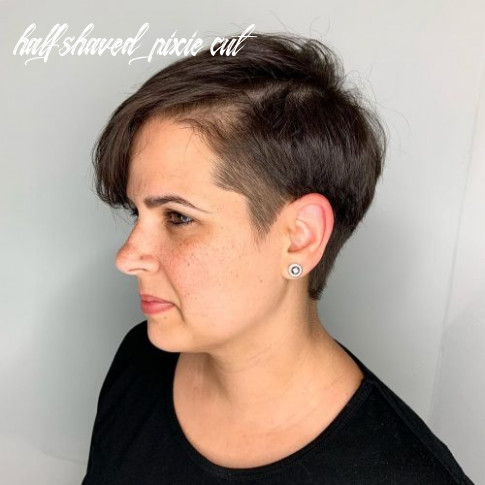 The 12 coolest undercut pixie cuts found for 1212 half shaved pixie cut