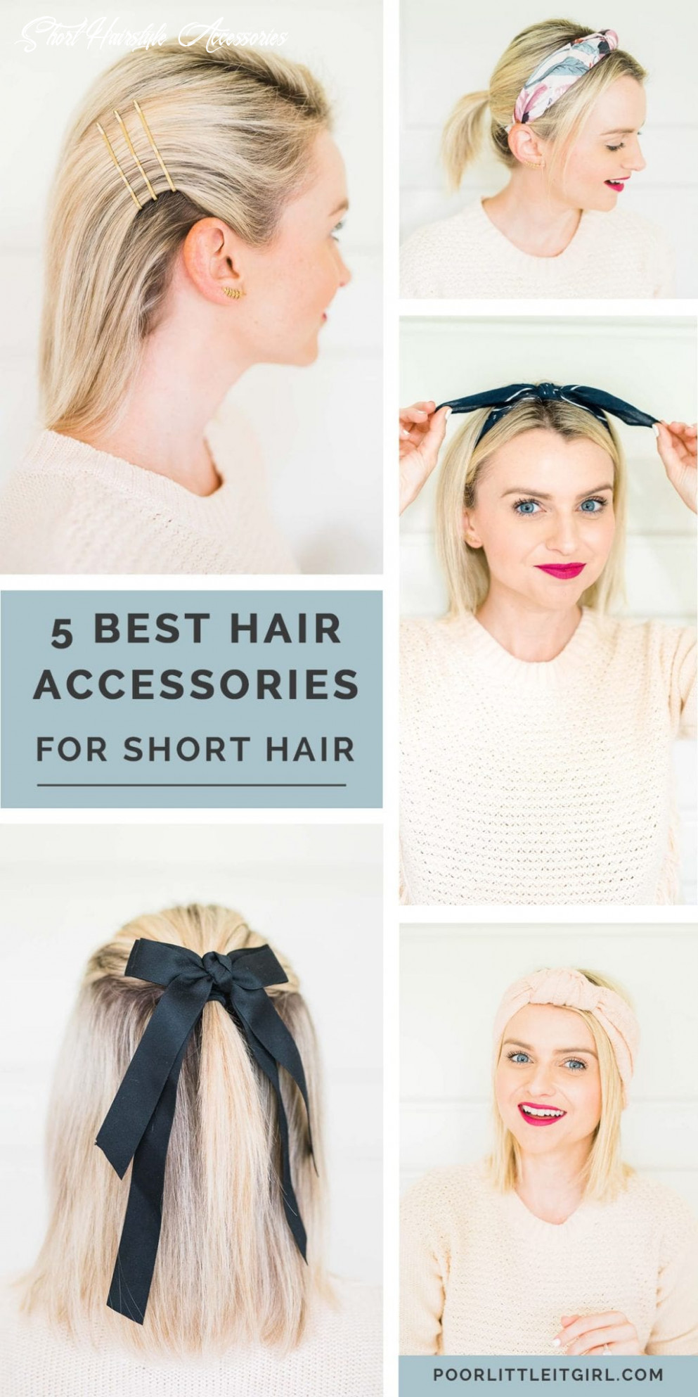 The 12 must have accessories for short hair poor little it girl short hairstyle accessories