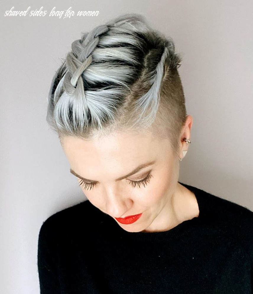 The 8 coolest shaved hairstyles for women hair adviser shaved sides long top women