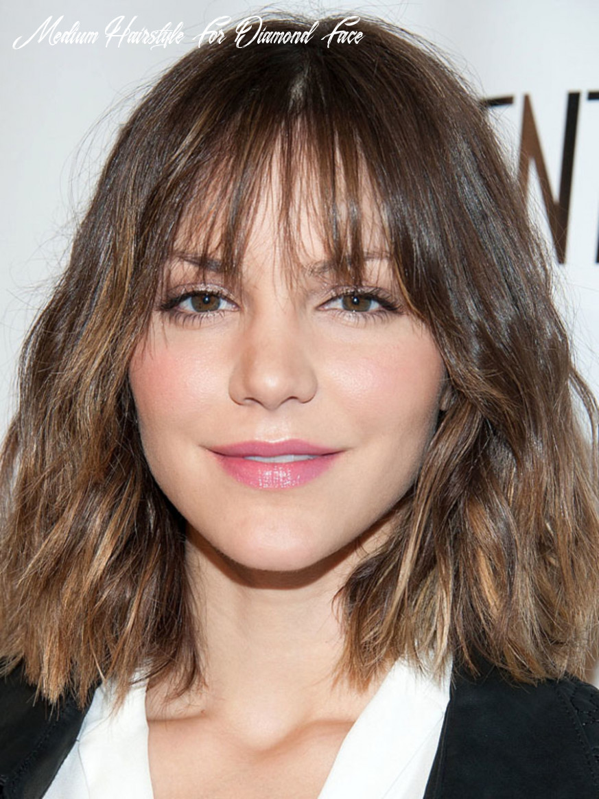 The Best (and Worst) Bangs for Diamond Faces - The Skincare Edit
