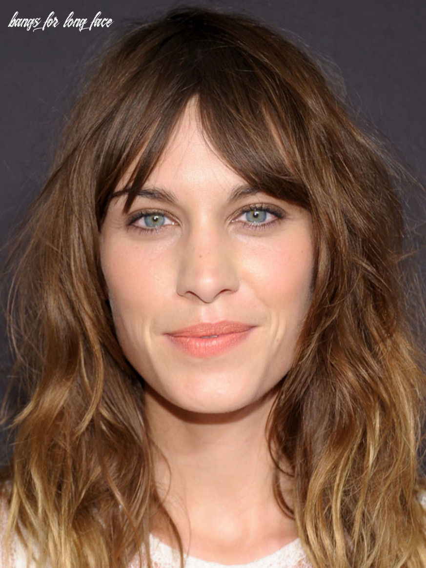 The best (and worst) bangs for long face shapes the skincare edit bangs for long face