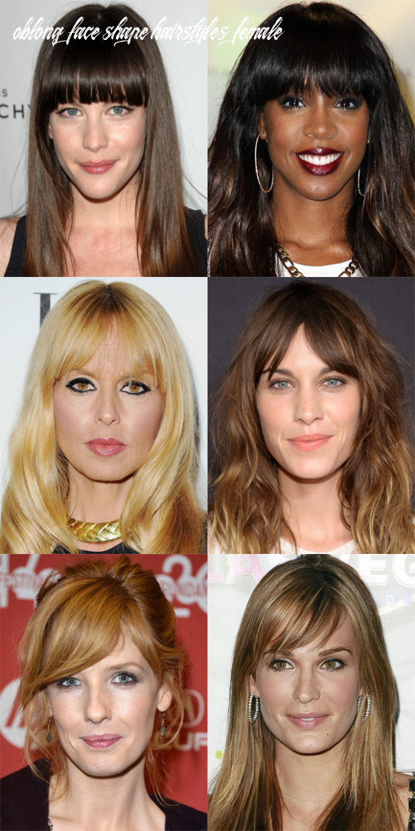The best (and worst) bangs for long face shapes the skincare edit oblong face shape hairstyles female