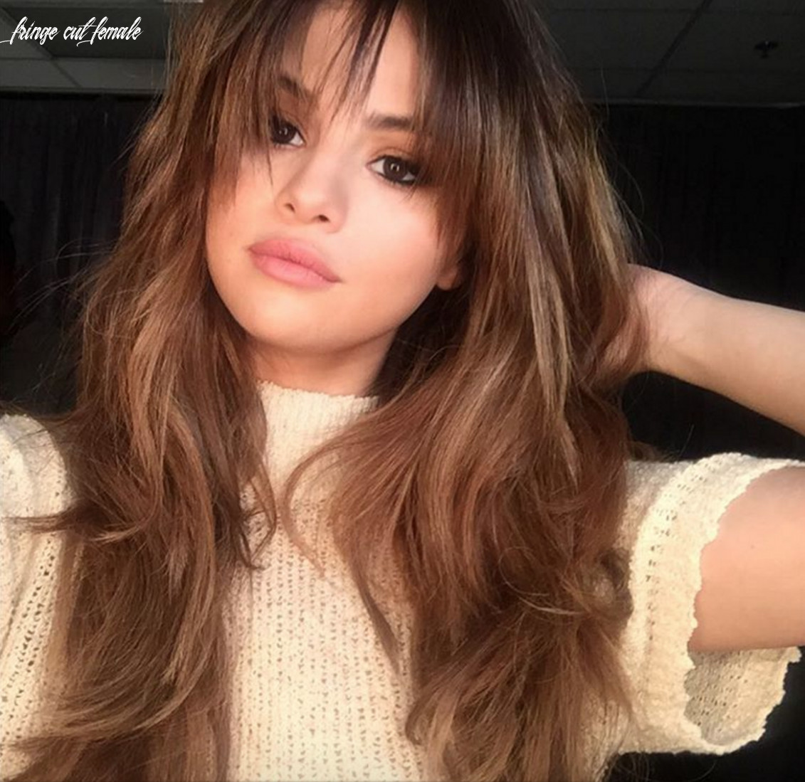 The best bangs for your face shape   glamour fringe cut female