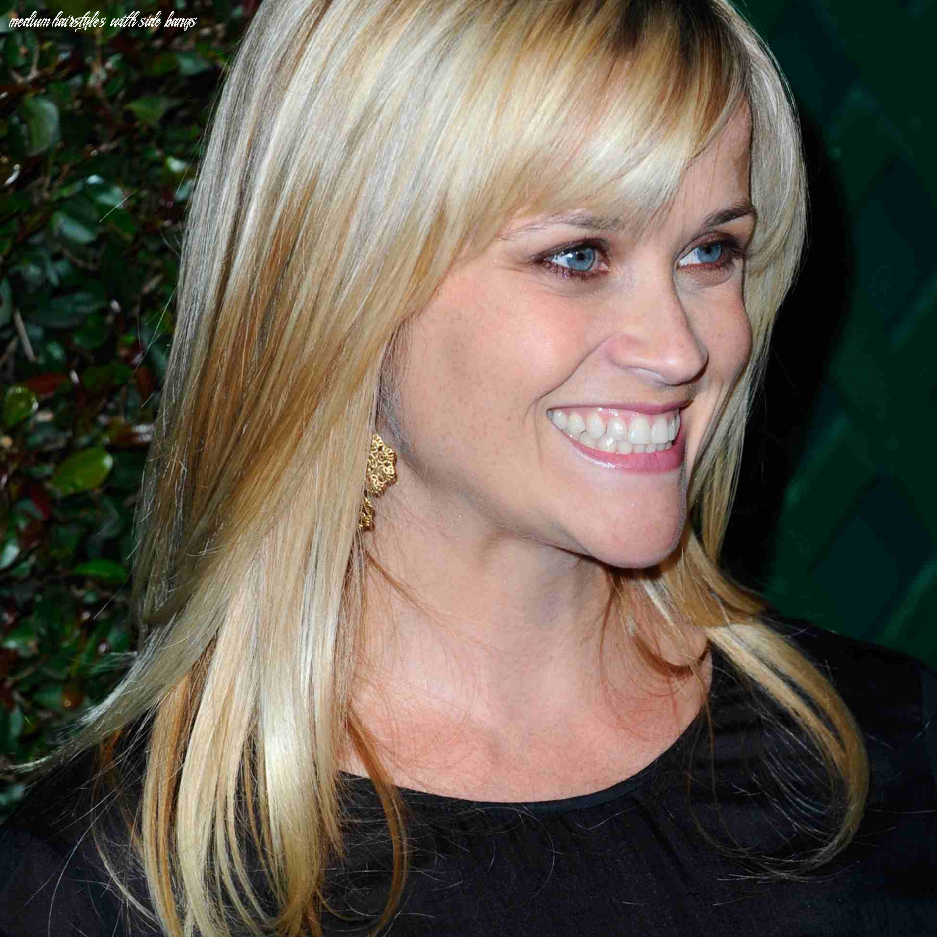 The best celebrity inspired side bang haircuts medium hairstyles with side bangs