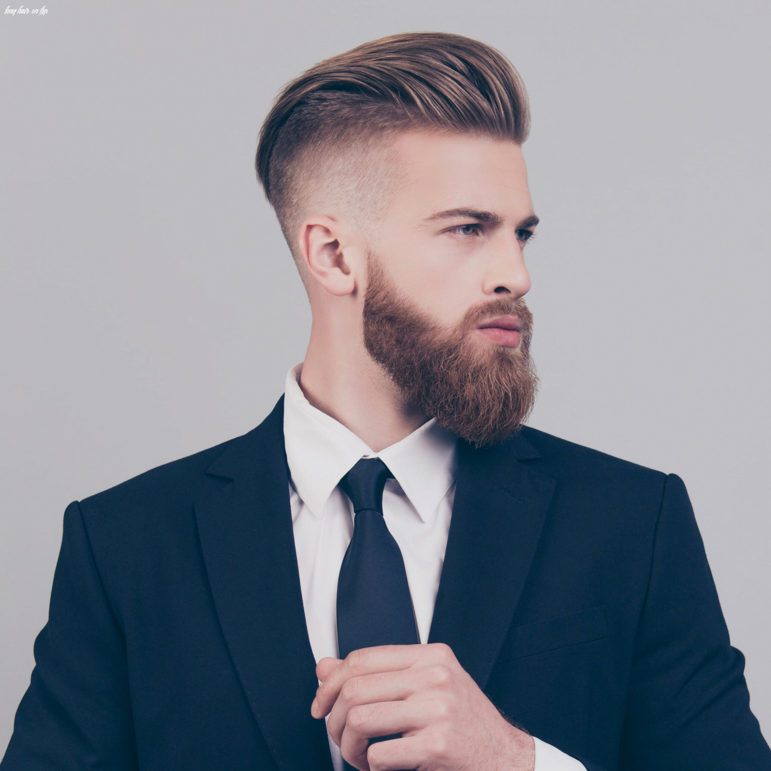 The best of both worlds: short sides & long top | haircut inspiration long hair on top