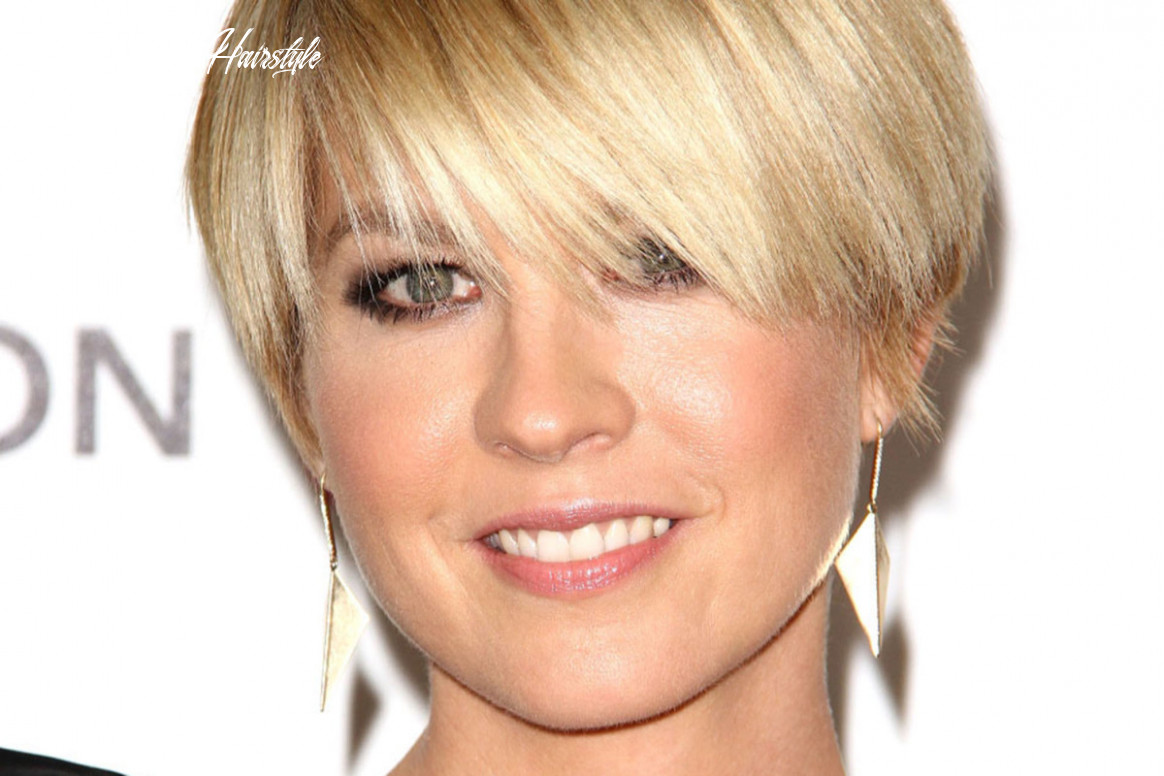 The best short haircuts for a long face the skincare edit long short hairstyle