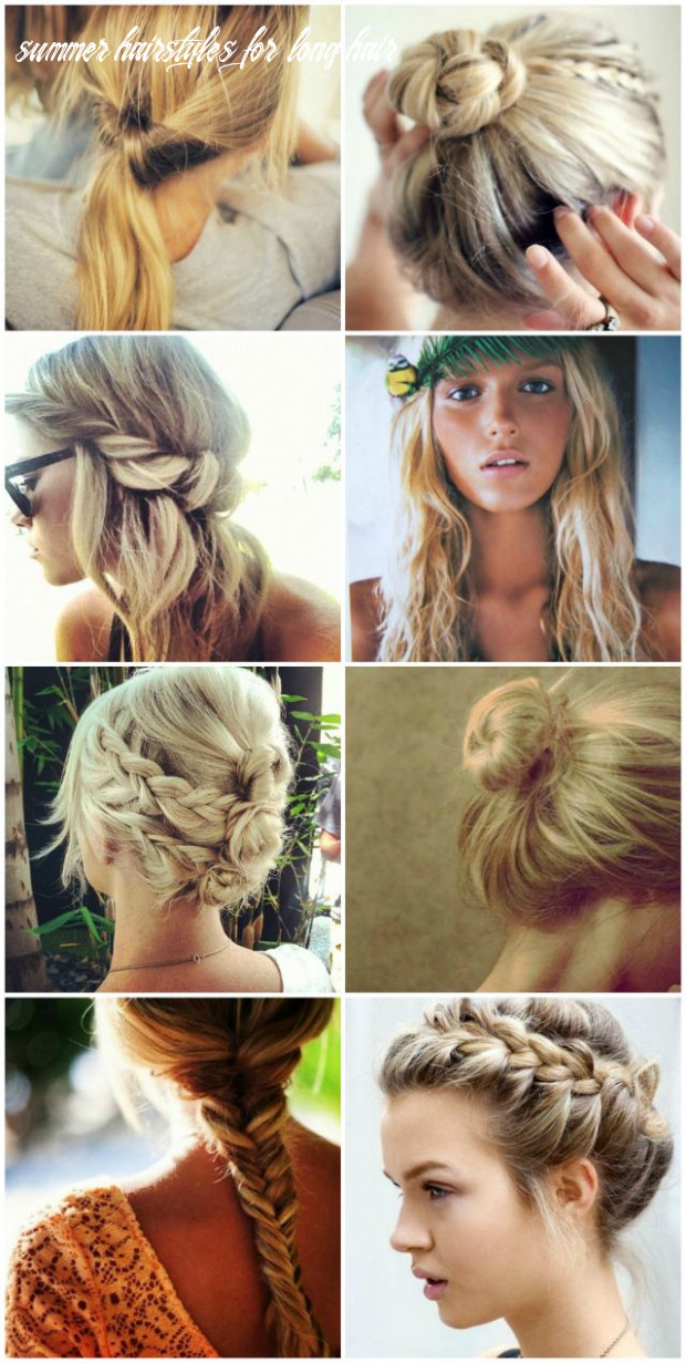 The Best Summer Hairstyles for Long Hair | Hair & Beauty at ...