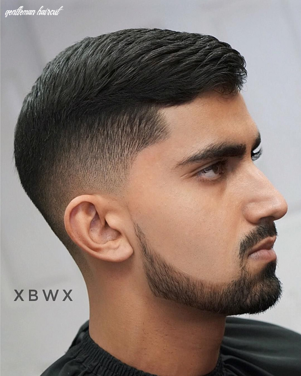 The gentleman haircut | gentleman haircut, beard styles for men