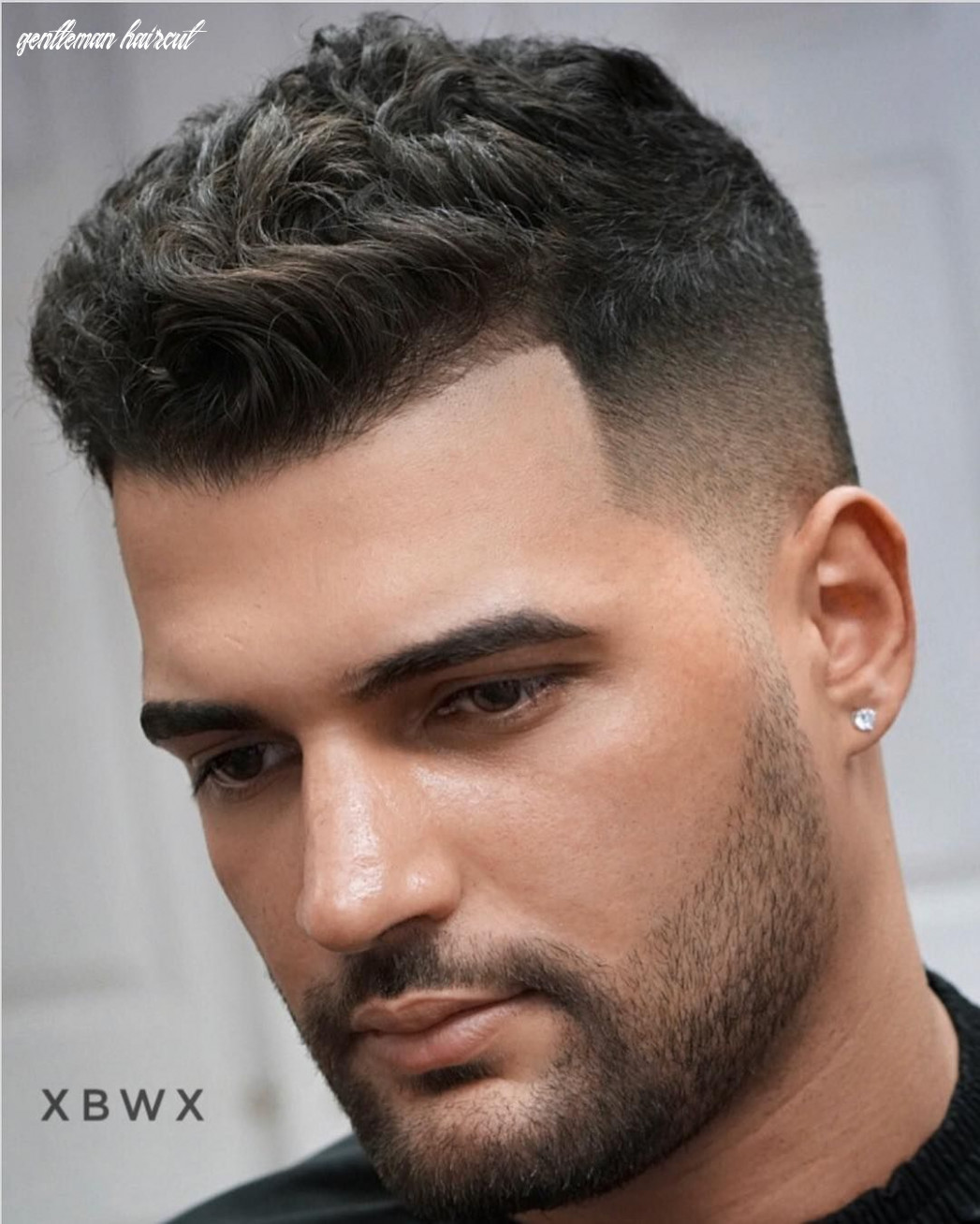 The gentleman haircut | gentleman haircut, square face hairstyles