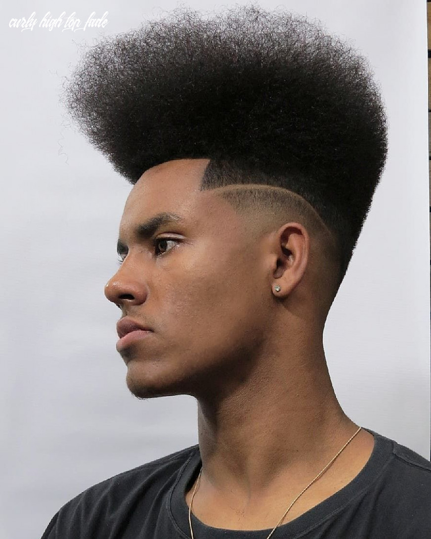 The high top fade haircut (retro and modern styles) in 10