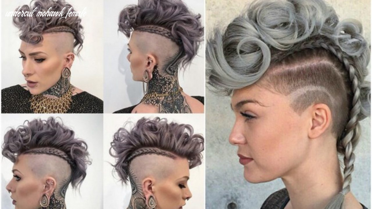 The mohawk hairstyle in women more popular: how the hairstyles looks undercut mohawk female