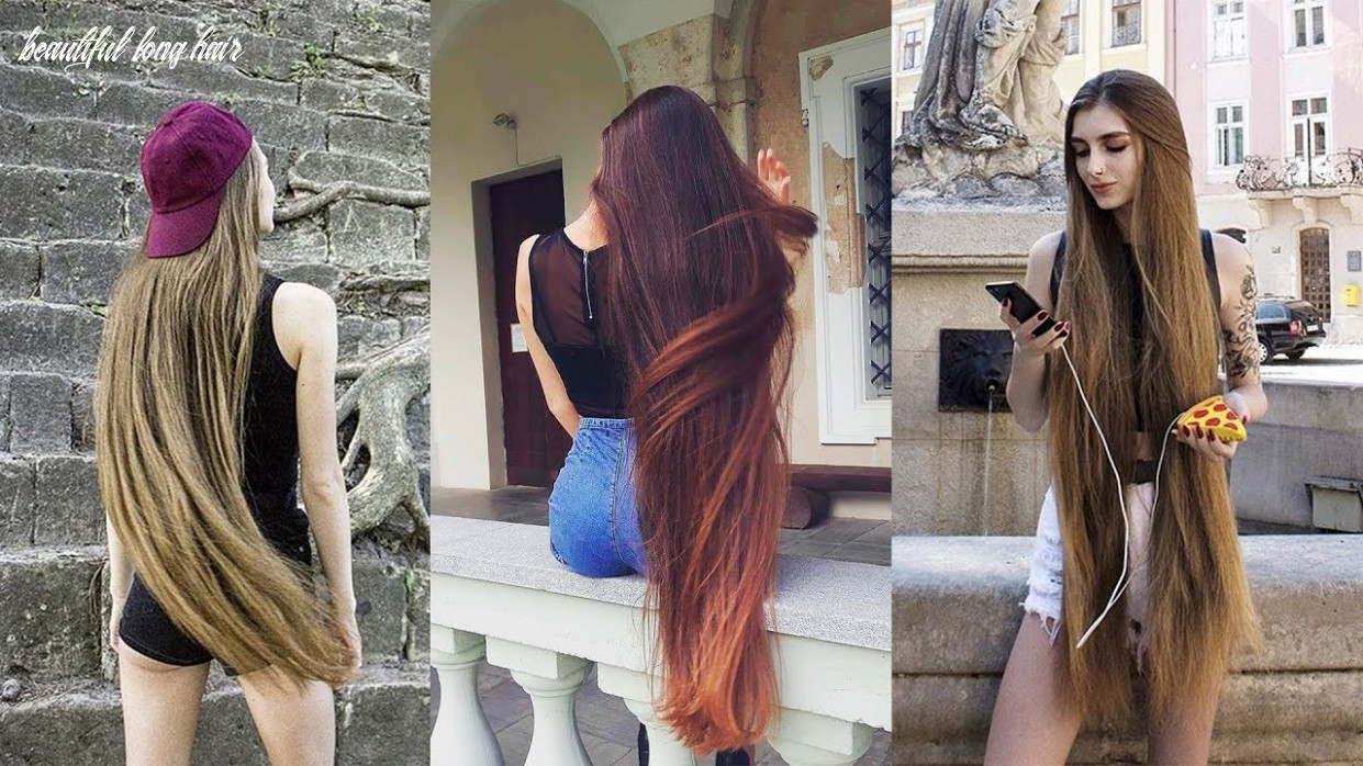 The most beautiful extremely long hair girls of internet beautiful long hair