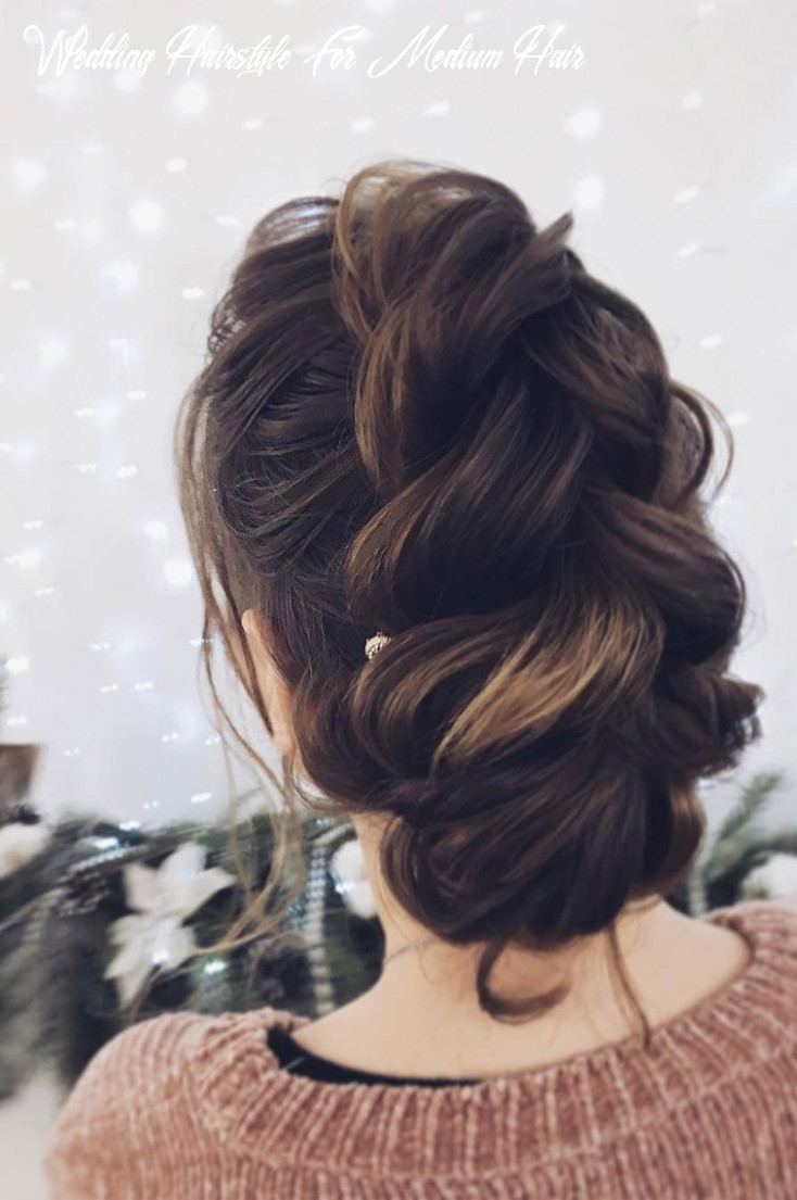 The most romantic bridal updos wedding hairstyles wedding hairstyle for medium hair