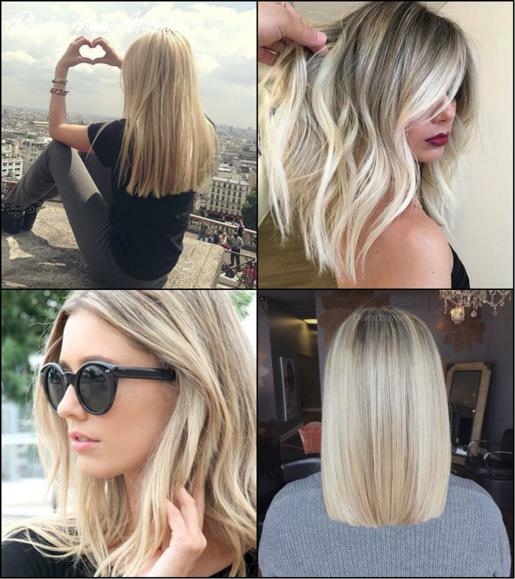 The perfect medium blonde hairstyles 12   pretty hairstyles