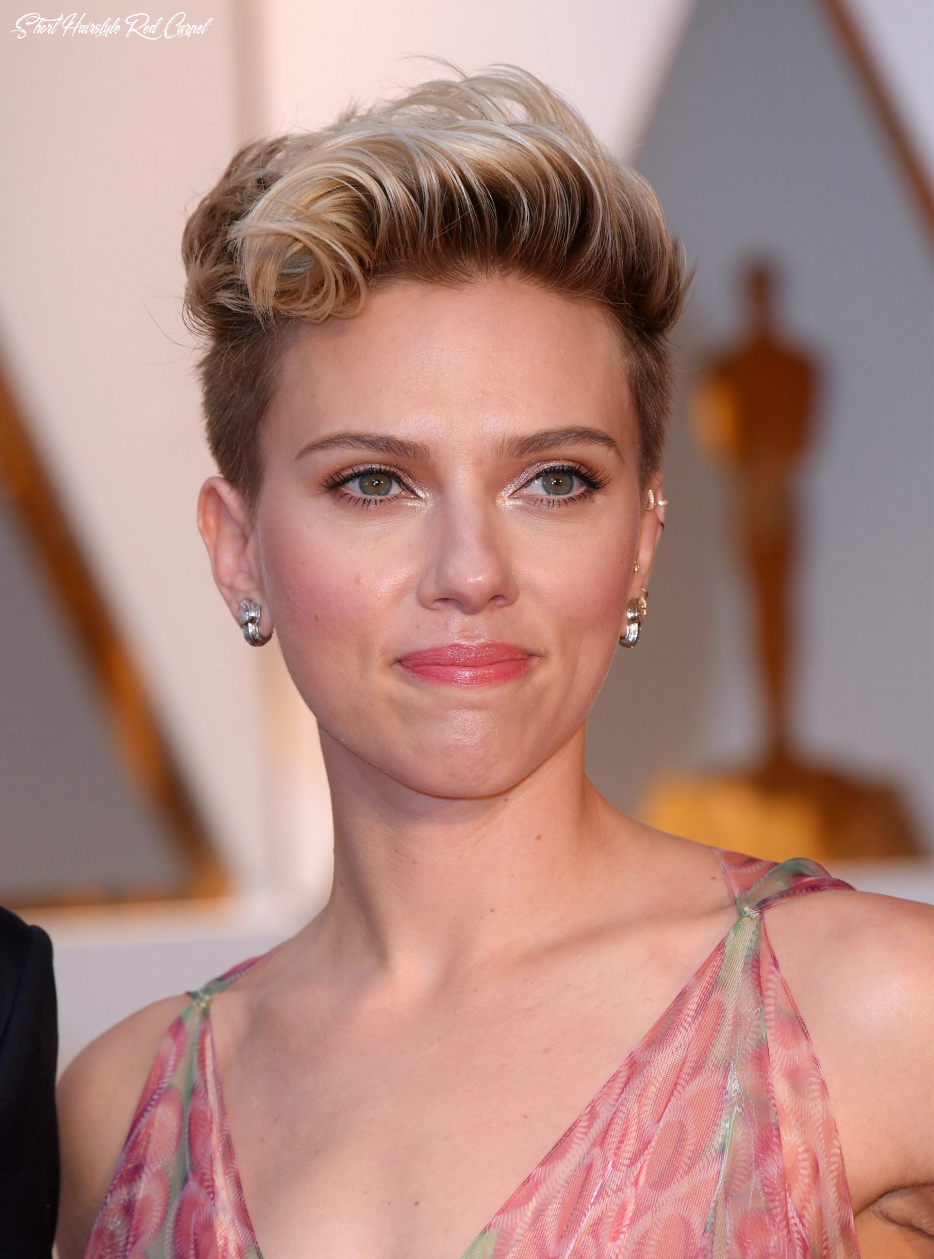The short hair trend on the oscars red carpet short hairstyle red carpet