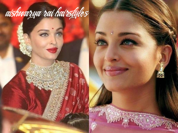These aishwarya rai hairstyles are great for festive season from