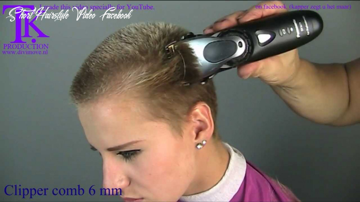 This time i go short! britt by theo knoop short hairstyle video facebook