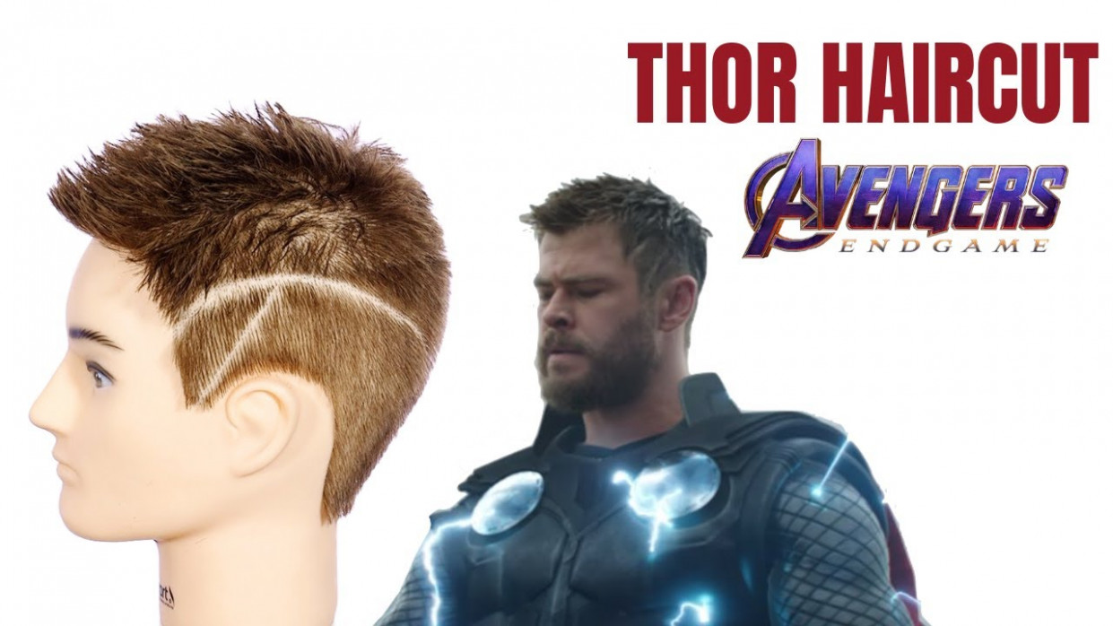 Thor avengers: endgame haircut tutorial thesalonguy thor short hairstyle