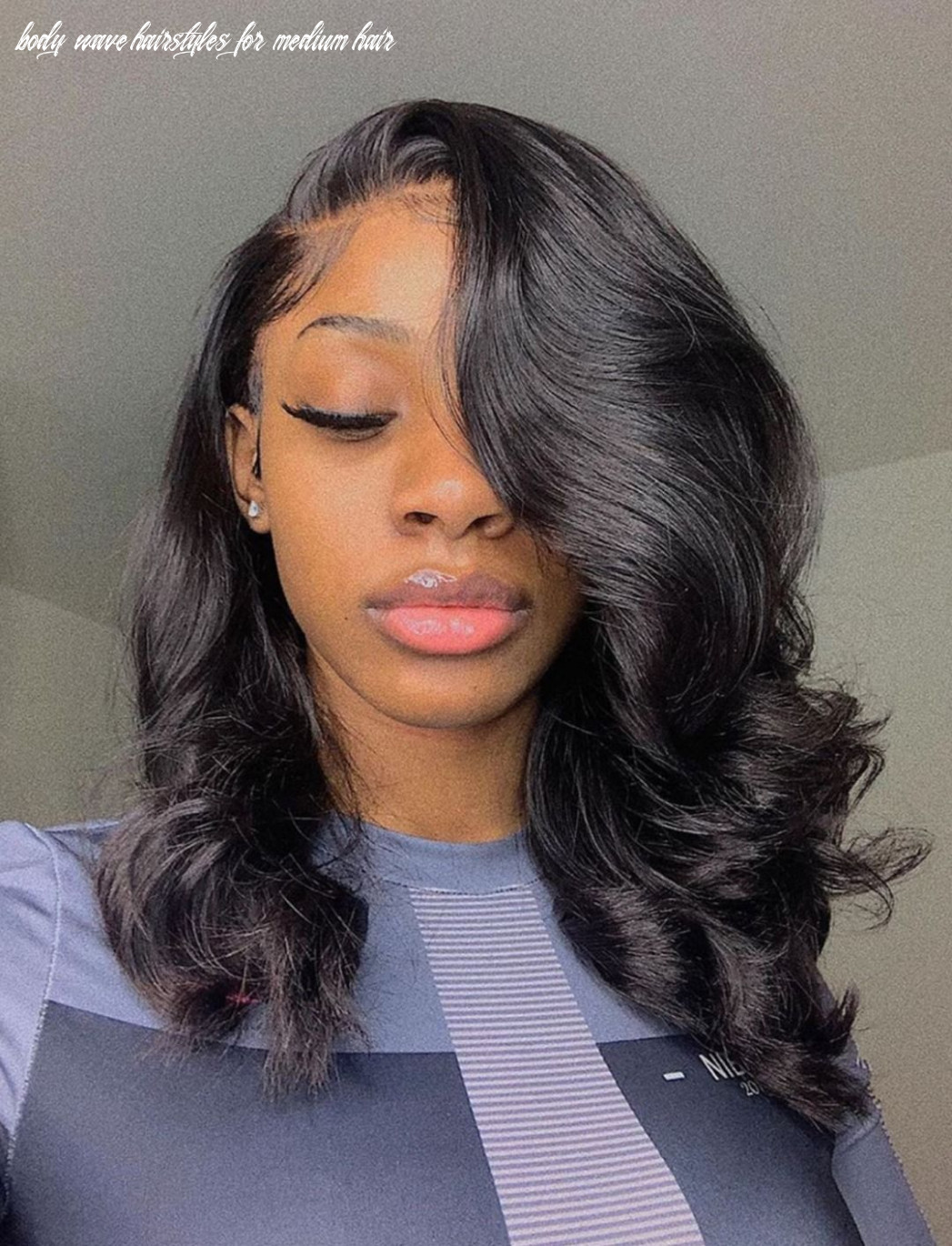 Thriving hair virgin human hair loose body wave lace front wigs
