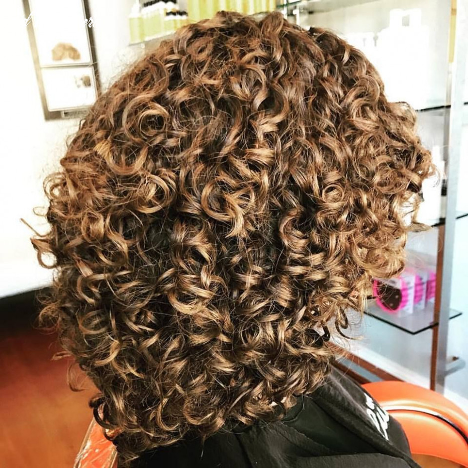 Tight perm #curly #aveda   permed hairstyles, tight curly hair