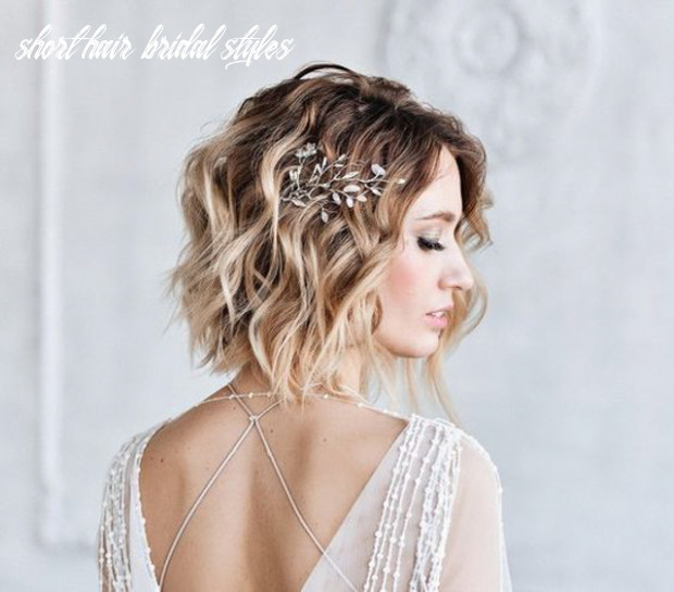 Tips on Choosing Bridal Headpieces for Girls with Short Hair | The ...
