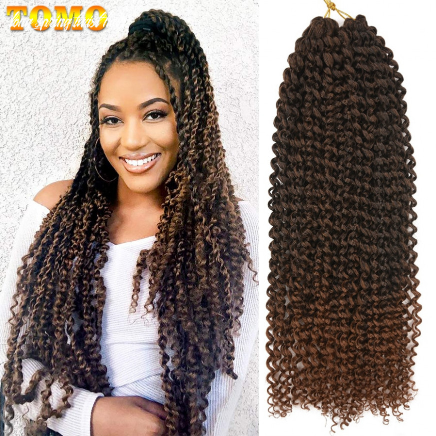 """Tomo 8"""" 8"""" 8"""" passion twist crochet hair long ombre spring twist braiding hair extensions synthetic crochet braids 8 strands long spring twist hair"""