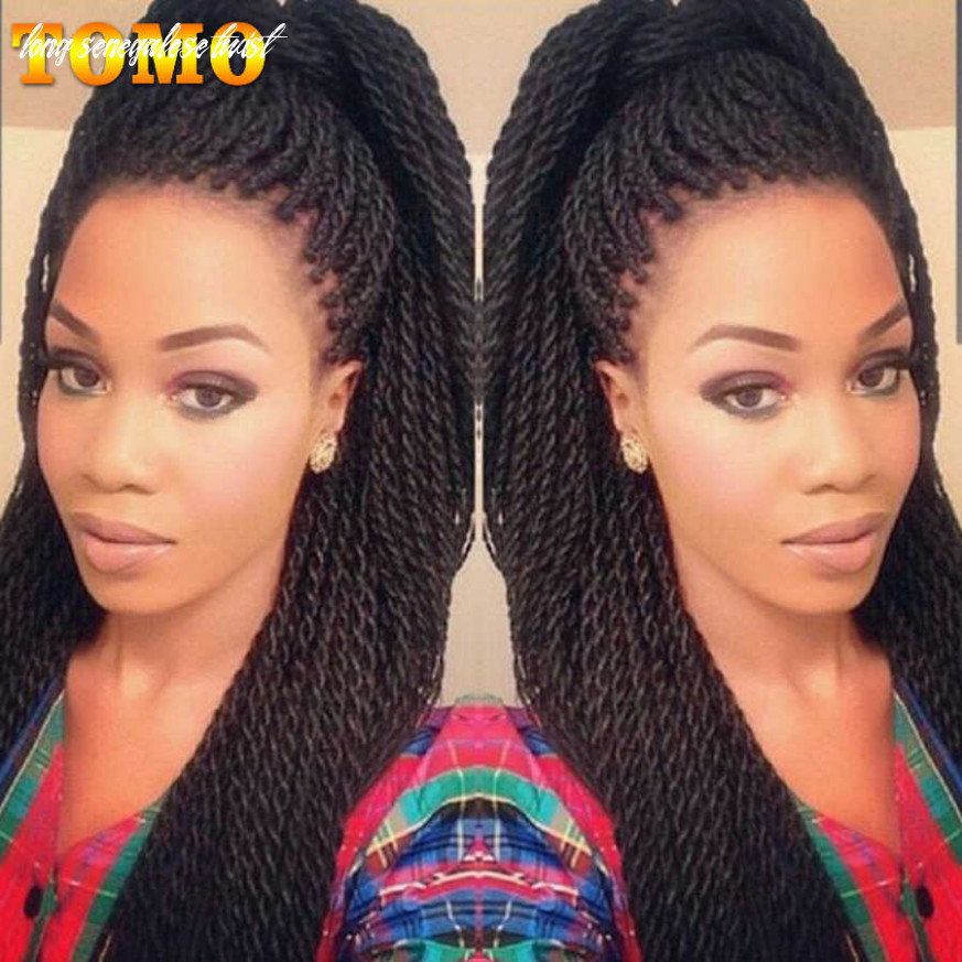 """TOMO 9"""" 9"""" 9strands Ombre Small Crotchet Braid Hair Extension Long  Synthetic Senegalese Twist Braiding Hair for Black Women"""