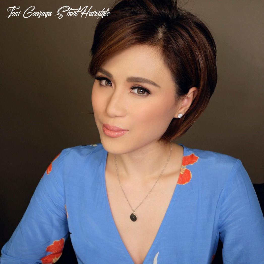 Toni gonzaga short hairstyle best of 10 best hair images in 1015