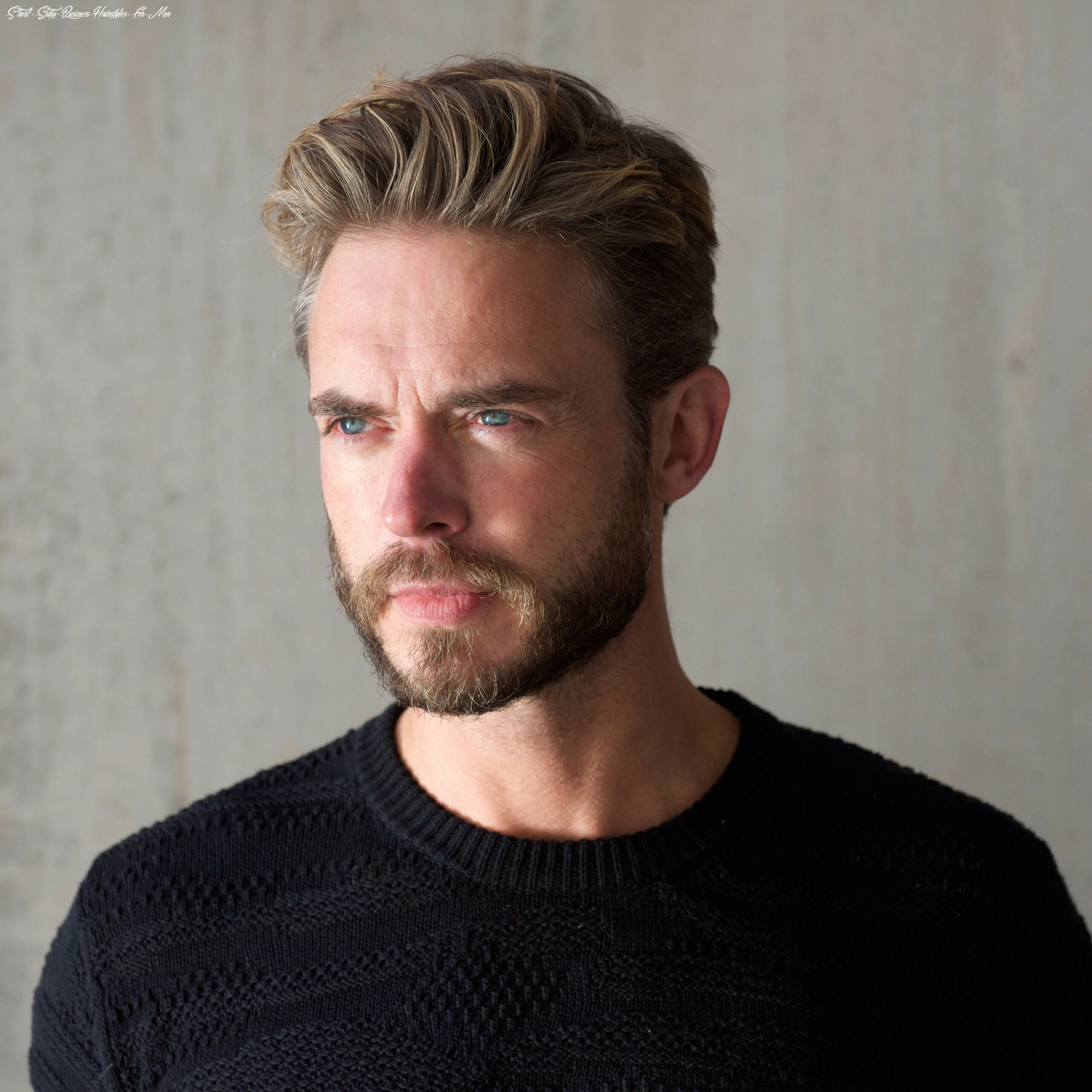 Top 10 business hairstyles for men short spiky business hairstyles for men