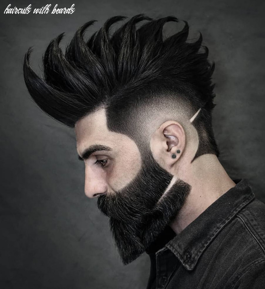 Top 10 hairstyles for men with beards haircuts with beards